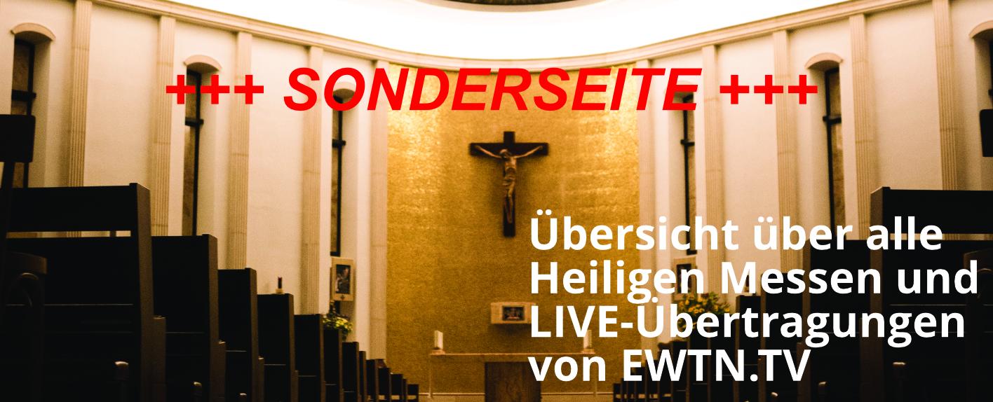 Heilige Messen Live-Übertragungen